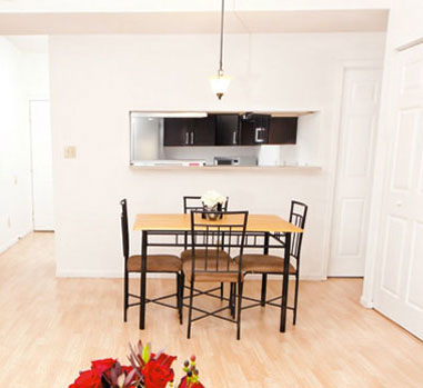 Urbana IL Apartment with hardwood floors & fully furnished